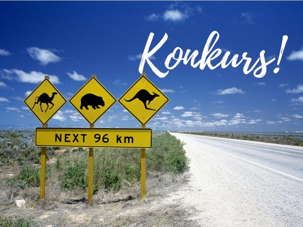 Konkurs na blogu Australia