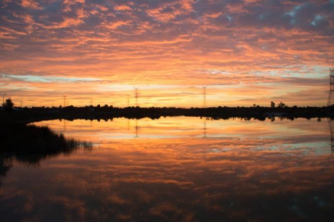 zachód słońca Perth