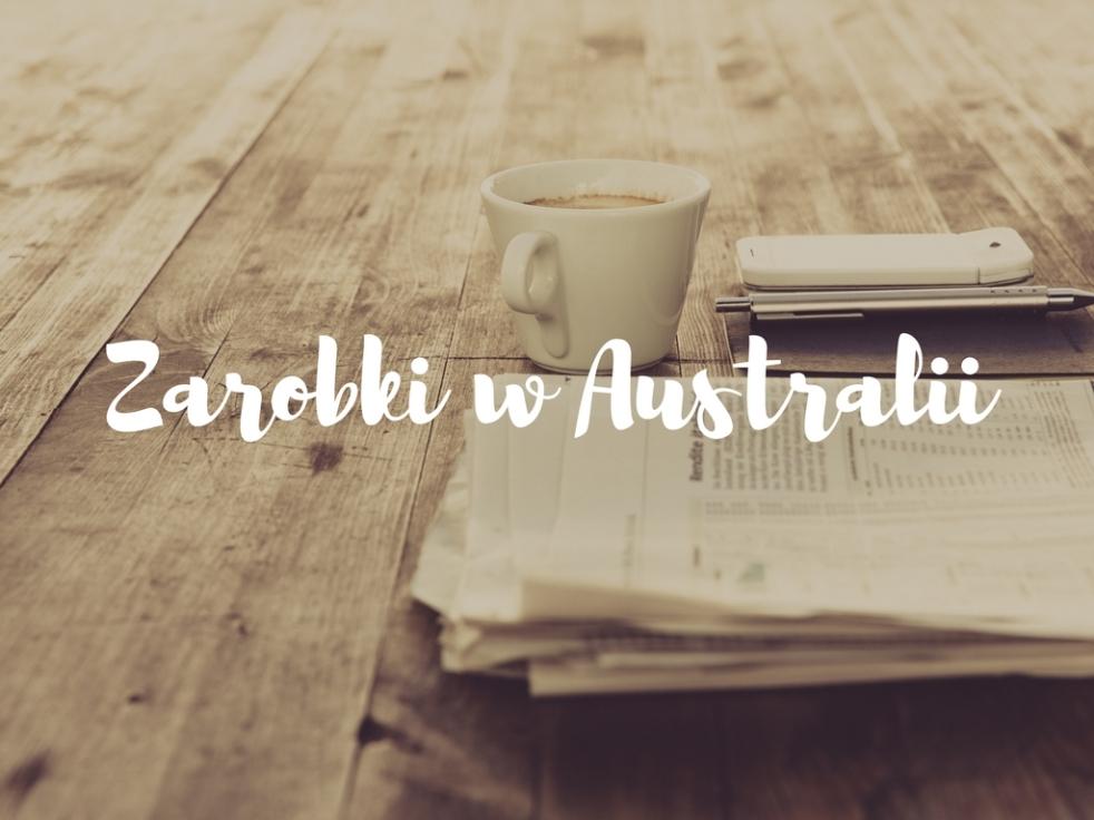 Zarobki w Australii