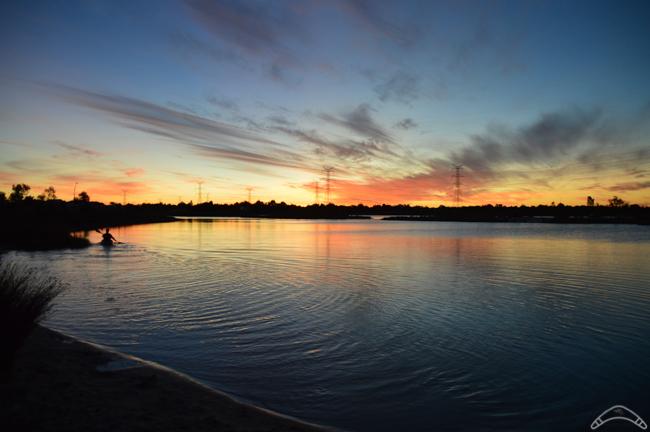 Jezioro_zachod