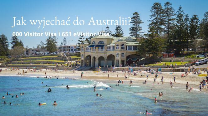 Wiza turystyczna Australia